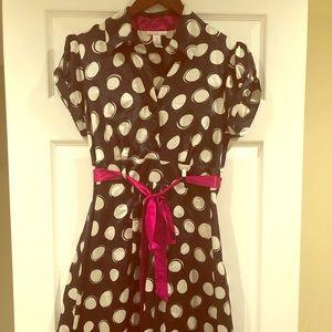 Polka Dot Amanda Lane dress